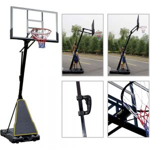 Amila Ρυθμιζόμενη Μπασκέτα Φορητή Deluxe  Basketball System
