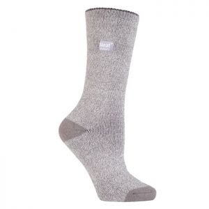 Heat Holders Γυναικείες Κάλτσες Lite Socks Silver/Cream