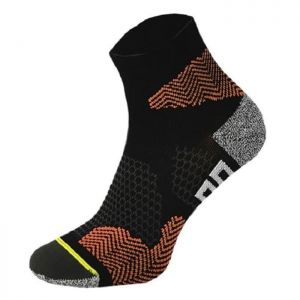 Comodo Κάλτσες Running Socks - RUN 1 Black/Orange